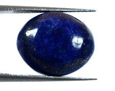 Pierre de guérison ovale en lapis-lazuli, 10 ct + flocons de pyrite d'or naturel