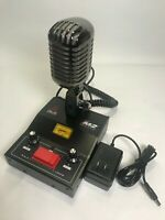 8 PIN for ICOM IC718 BLACK CHROME DELTA M2 AMPLIFIED POWER BASE MICROPHONE HAM