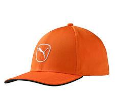 71d365542c2 2016 PUMA Cat Patch 2.0 Adjustable Hat Size Vibrant Orange - White Cap