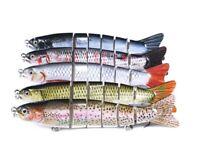 5pcs 22g Multi Jointed Fishing Lures Swimbait Sinking Wobblers Hard Crankbait