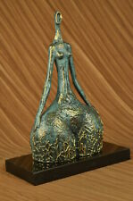 Bronze Sculpture Statue Abstract Modern Nude Abstract Female by Milo Hot Cast