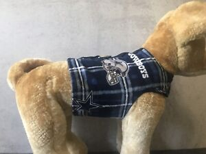 Dallas Cowboys Dog Vest Harness Size Large