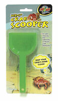 ZOO MED HERMIT CRAB SCOOPER WASTE SHOVEL SCOOP UPICK COLOR. FREE SHIP IN THE USA