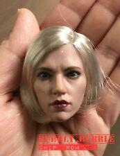 1/6 Scarlett Johansson Black Widow Head Sculpt For Hot Toys PHICEN SHIP FROM USA