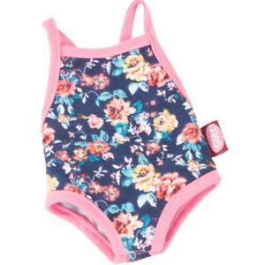 Gotz Navy Floral Swimsuit 45-50cm