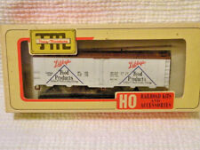 HO Train Miniature 40' Steel Reefer Libby's Food LMcN&L1464  KIT 1-4-5