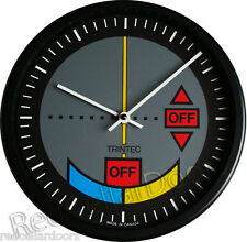 "New TRINTEC VOR OMNIDIRECTIONAL Wall Clock 10"" Airplane Instrument Dial Aviatrix"