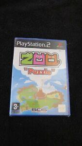 PS2 : ZOO PUZZLE - Nuovo, risigillato! Da 505 Gamestreet!