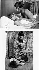 L'AMOUR FOU 2 Photos Jacques RIVETTE Kalfon Bulle OGIER Film Nouvelle Vague 1969
