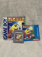 Nintendo GameBoy Namco Pacman GAME CARTRIDGE AND BOOKLET ONLY