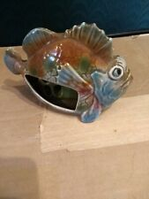 Ceramic Toothbrush Holder lion  Fish