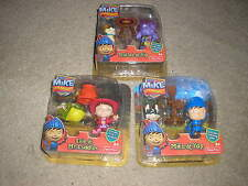 New Lot of Mike the Knight Figures Mike Yap Torllee Yip Evie Mr. Cuddles