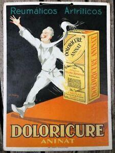 Leon Dupin - Doloricure Aninat - Affiche publicitaire - Carton