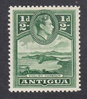 Antigua KGVI - 1938 to 1951 - 1/2d - Green - SG98 - Mint Hinged (E12A)