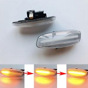Dynamic LED Side Indicator Turn Signal Light For Peugeot 207 308 3008 5008 RCZ