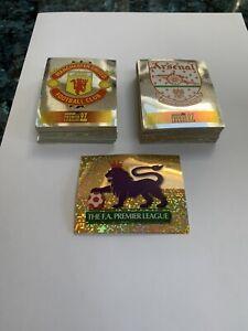 Merlin Premier league 97 - Choose Your Shiny / Foil Sticker - Badge / Logo / Kit