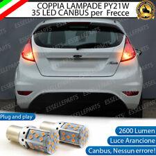 COPPIA LAMPADE PY21W CANBUS 35 LED FORD FIESTA MK6 FRECCE POSTERIORI NO ERROR