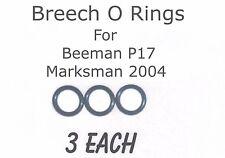 Beeman P17, Marksman 2004 Breech O'rings (3 Each)