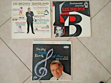 Les Brown LP LOT  3 Records