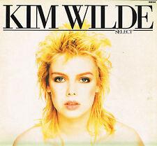 """KIM WILDE Select 12"""" LP w Printed Inner RAK UK 1982 SRAK 548 A-1/B-1 @1st Press"""