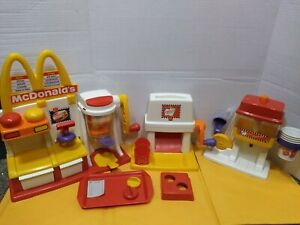 McDonald's Happy Meal Magic Snack Maker - Hamburger, French Fry & Fountain Drink