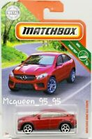 MATCHBOX 2019 MBX ROAD TRIP MERCEDES-BENZ GLE COUPE RED