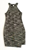 ASTR Black & White Halter Sleeveless Mini Dress Size S Small