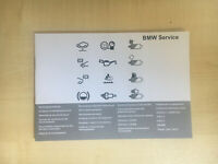 BMW SERVICE BOOK 1 SERIES BRAND NEW GENUINE FOR ALL PETROL AND DIESEL 120d 120i