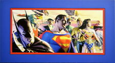JUSTICE LEAGUE: IN THE LIGHT OF JUSTICE PRINT PROFESSIONALLY MATTED Ross Batman