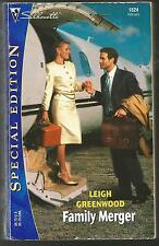 Family Merger by Leigh Greenwood (2002, Paperback),English