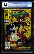 Amazing Spider-Man #362 CGC NM+ 9.6 White Pages 2nd Carnage!
