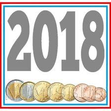 LUXEMBOURG serie euro année 2018 Qualité Sans Circulaire