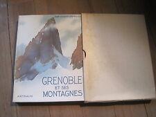 """Jean-Jacques CHEVALLIER: Grenoble et ses montagnes. Arthaud """"beaux pays"""" 37"""