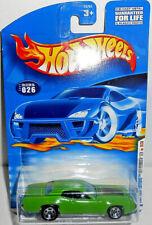 Hot Wheels 2001 First Edition 1971 Plymouth GTX MOPAR (Green) #026