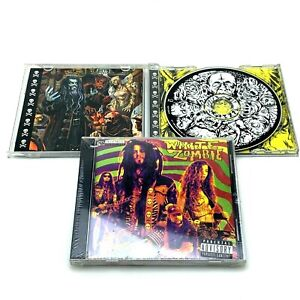 Rob White Zombie   La Sexorcisto & Hellbilly Deluxe   Lot of 2 CDs   One Sealed