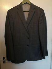 "TM LEWIN PALL MALL grey Wool Jacket Used Vgc DBL Vent 2 Btn chest 41"" regular"