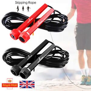 Speed Skipping Rope Boxing Jumping Crossfit Weight Loss Fitness Exercise Girls U