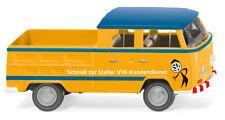 """1975 VW t2 DOUBLE CAB Doka /""""VOLKSWAGEN Body Repair *** Greenlight 1:64 OVP"""