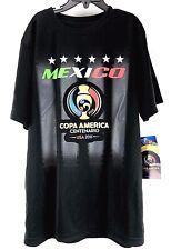 Boys Soccer Shirt Mexico Copa America Centenario USA 2016 Futbol Black Size L
