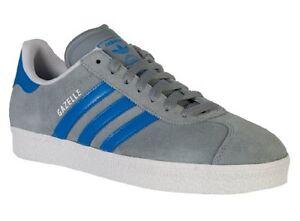 Adidas Gazelle II Men Shoes Street Stone/Blue Bird/Running White  G96198