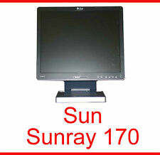 "SUNRAY SUN RAY 170 ULTRA THIN CLIENT 17"" 43 cm TFT MONITOR 380-1122-03 +NETZTEIL"