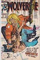 WOLVERINE#10 FN/VF 1988 VS SABRETOOTH MARVEL COMICS