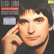 SERGE LAMA A La Vie A L' Amour FR Press Philips 838 009 1980 2 LP