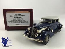 1/43 BROOKLIN BC 008A BUICK PHAETON MODEL 98C 1934 EMPIRE BLUE
