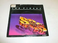 """THE SOS BAND - The Finest - 1986 UK 2-track 7"""" Vinyl Single"""