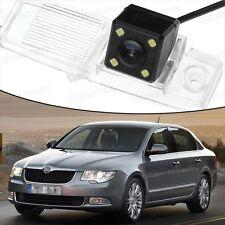 4 LED CCD Rearview Camera Reverse Parking Backup for Skoda Superb Sedan 09-12