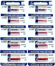 10 Vinnic L1325 RFA 18-11 PX28A 4LR44 6V ALKALINE DOG SHOCK COLLAR BATTERIES