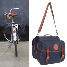 Tourbon Bike Double Panniers Cycling Rear Seat Twins Bag Travel Market Pack Blue