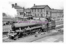 bb1037 - BR Railway Engine 45595 at Crewe Station in 1957 - photograph