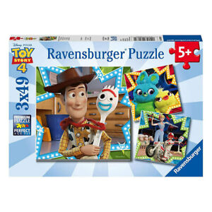 Ravensburger Toy Story 4 In This Together 3 x 49 Piece Jigsaw Puzzle NEW